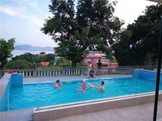 100mm tloušťka 150 mm Luxusní akrylátové plexisklo pro velké bazény