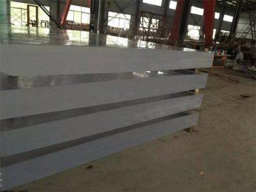 80 mm průhledný akrylový plechový panel