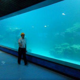 Liatinový akrylový panel pro akvárium / oceanarium