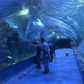Projekt oceánarového akrylového tunelu v akváriích