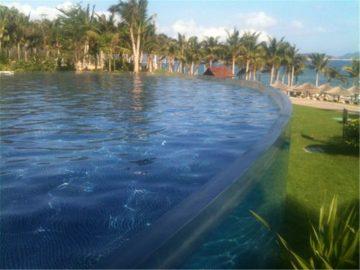 Vlastní akrylový panel pro bazén pro potápění