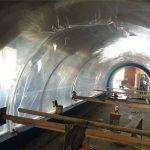 Vlastní velký akvarijní plastový tunelový akrylový projekt