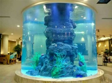 krystalové nádrže na ryby