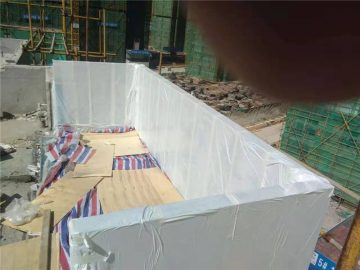 90mm akrylový kryt bazén
