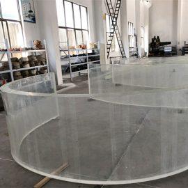 zrcadlová akrylová zakřivená plastová fólie pro akváriá pro akváriá