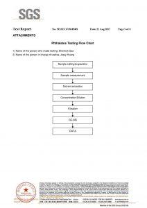 ROHS Testovací certifikát EN
